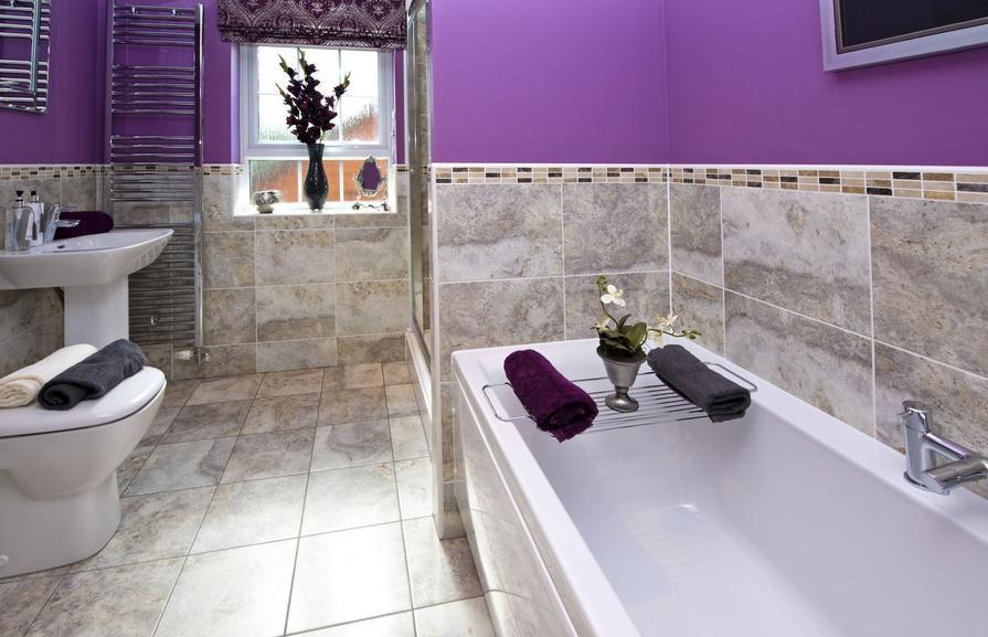 The Glidewell bathroom