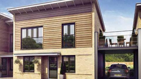 2 bedroom link detached house for sale