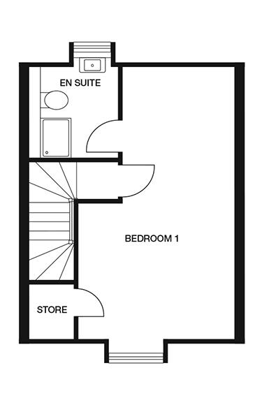<p><strong>Second Floor</strong></p><p><strong>Bedroom 1</strong> <br>3746mm x 6847mm<br>12&#39;3&quot; x 22&#39;5&quot;</p>