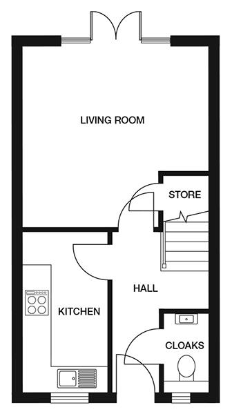 <p><strong>Ground Floor</strong></p><p><strong>Kitchen</strong><br>1912mm x 3630mm<br>6&#39;3&quot; x 11&#39;10&quot;</p> <p><strong>Living Room</strong><br>4112mm x 4132mm<br>13&#39;5&quot; x 13&#39;6&quot;</p> <p><strong>Cloakroom</strong> <br>970mm x 1720mm<br>3&#39;2&quot; x 5&#39;7&quot;</p> <p><strong>Store</strong> <br>1023mm x 970mm<br>3&#39;4&quot; x 3&#39;2&quot;</p>