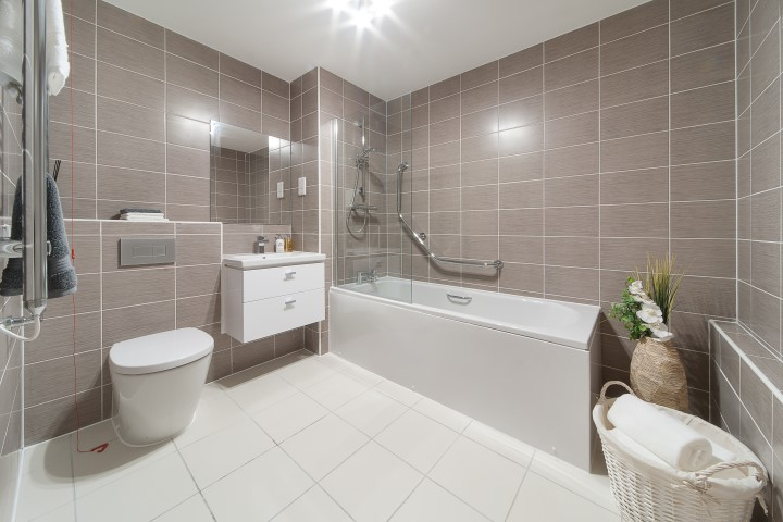 Typical 2 bed en-suite bathroom