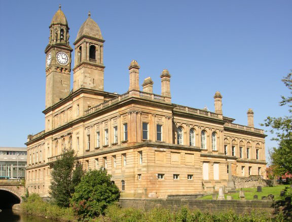 Local area - Paisley Town Hall