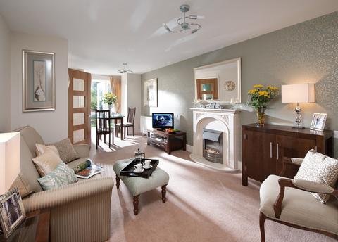 Typical 2 bedroom - Plot 45369