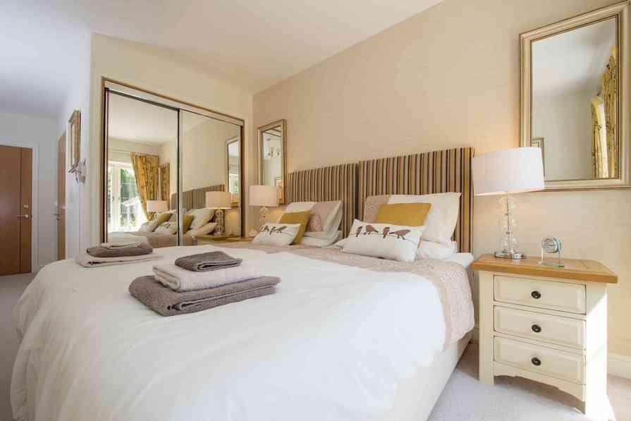 Comfortable guest suite