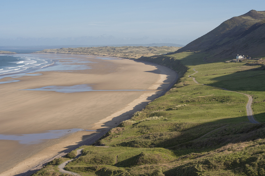 Beautiful Gower Peninsula