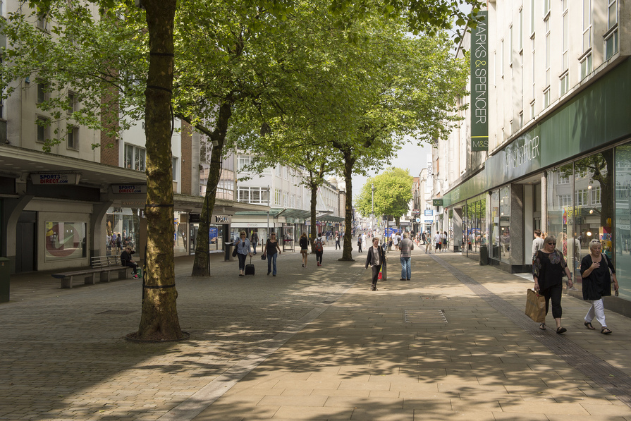 Shopping in Swansea Centre