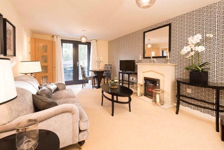 Show apartment lounge
