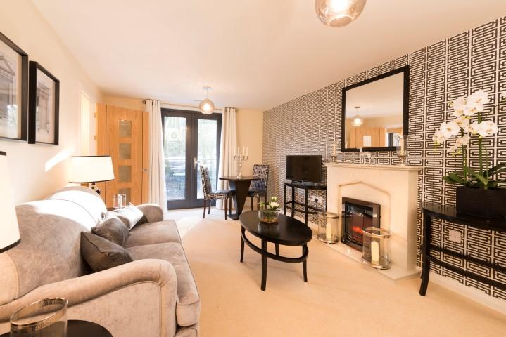 Show apartment lounge image