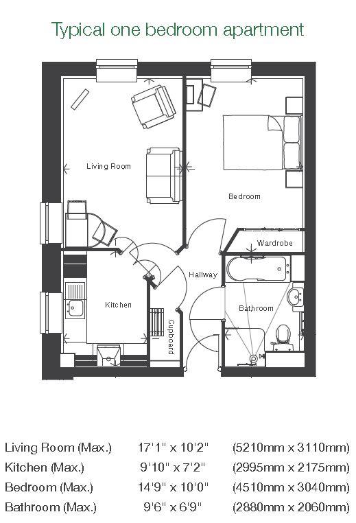 Cartwright Court - 1 Bedroom