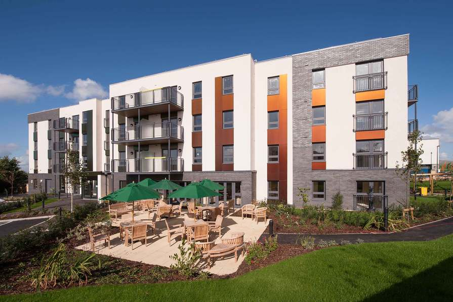 External View of Cheswick Court