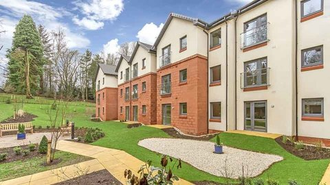 Typical 2 bedroom apartment, Darroch Gate