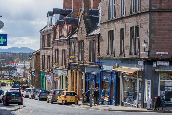 Blairgowrie High Street