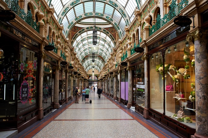 County Arcade in Leeds