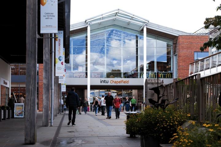 Norwich Chapelfield Shopping Centre