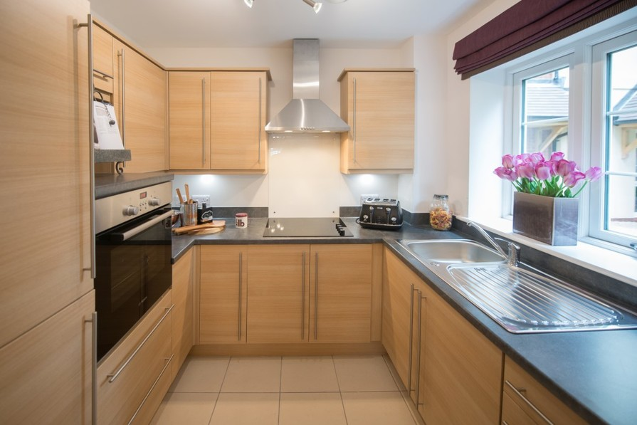 Two Bedroom Show Apartment - Kitchen