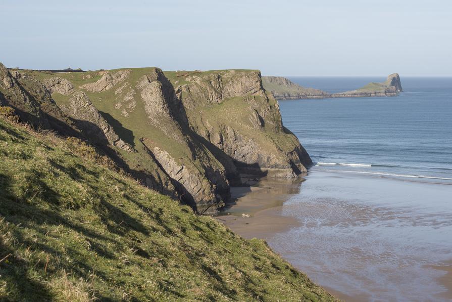 Swansea Bay Cliffs
