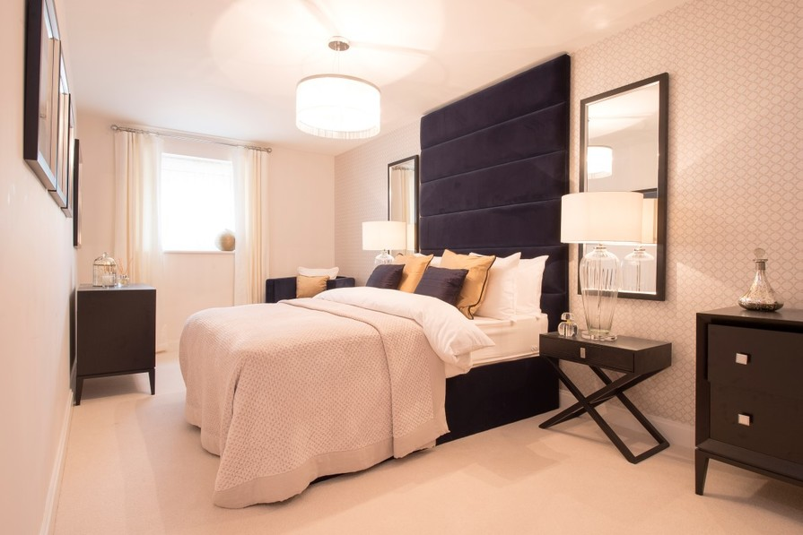 Typical second bedroom