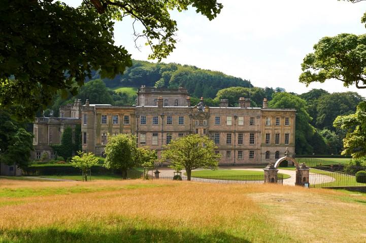 Lyme Hall and views