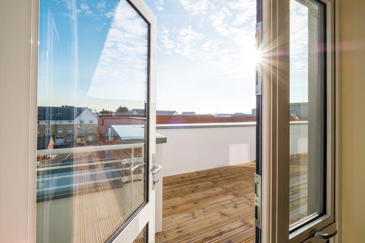 Plot 55 balcony