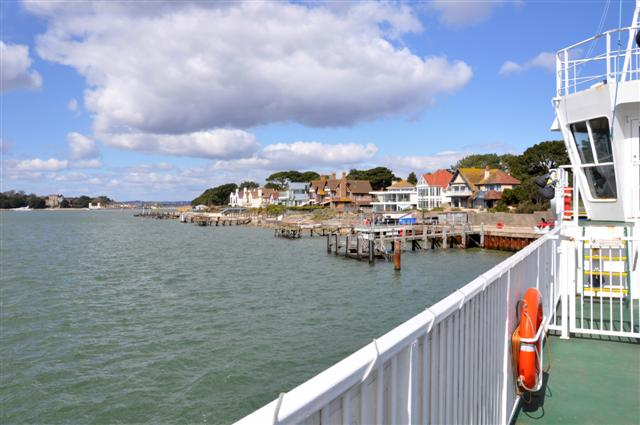 Sandbanks ferry crossing