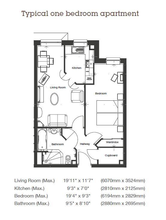 Horton Mill Court - 1 Bedroom
