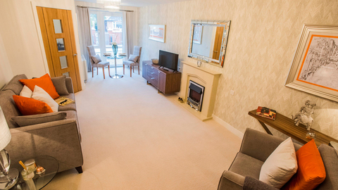 Typical 1 bedroom from