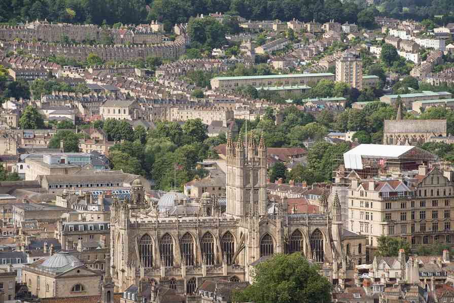 Overlooking the City of Bath
