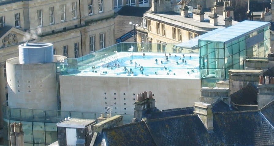 Bath Spa Rooftop Pool
