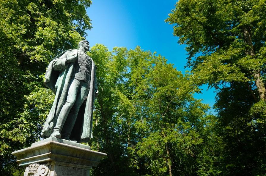 George Robert Charles statue