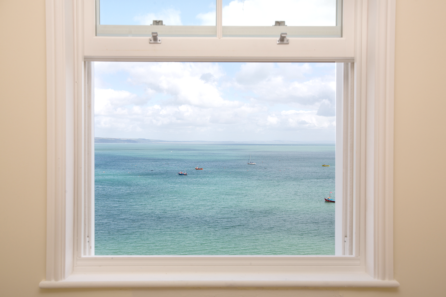 Stunning sea views from Paxton Court