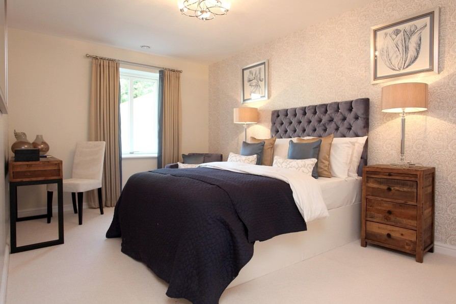 Typical master bedroom