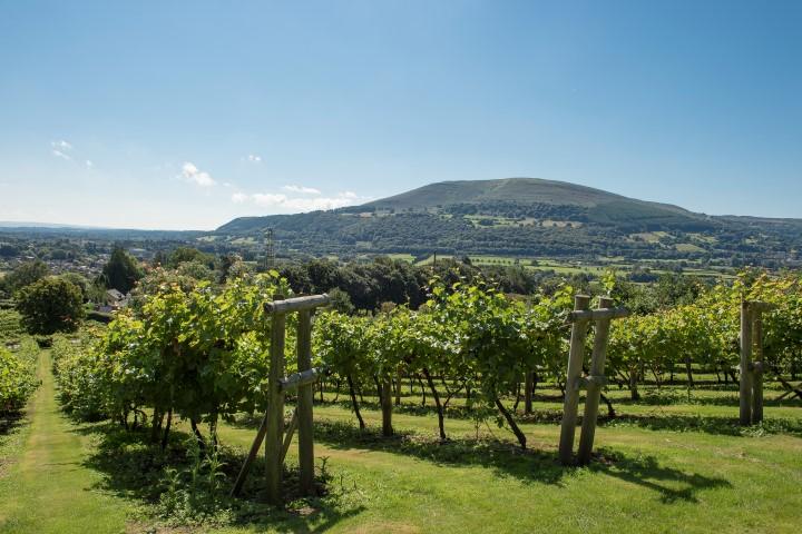 Beautiful countryside surrounding Abergavenny