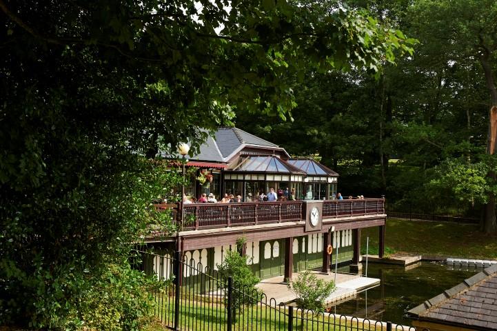 Bottom Lake at Roundhay Park