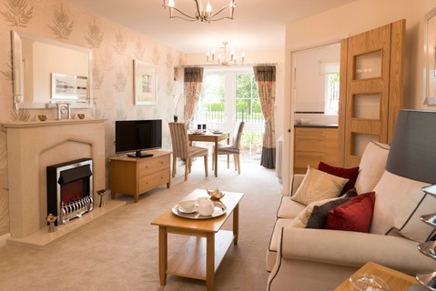 Typical 1 bedroom - Plot 29670