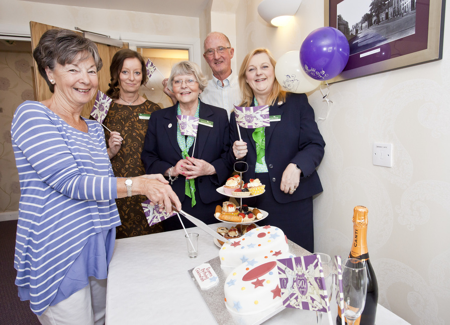 Queen's 90th celebrations at Ryebeck Court