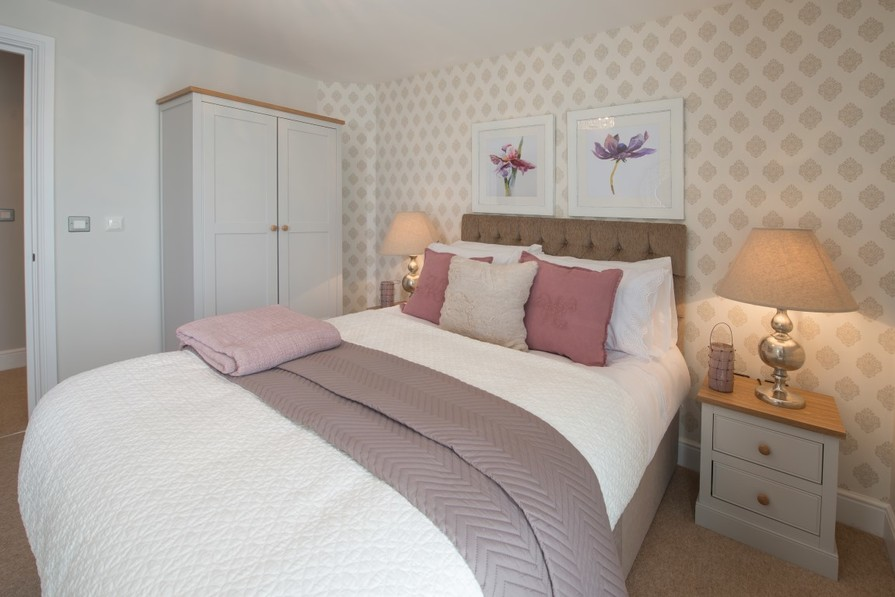 Sanderson Court, Three Bedroom Show Apartment Second Bedroom
