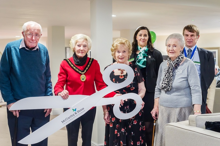 Sanderson Court Official Opening