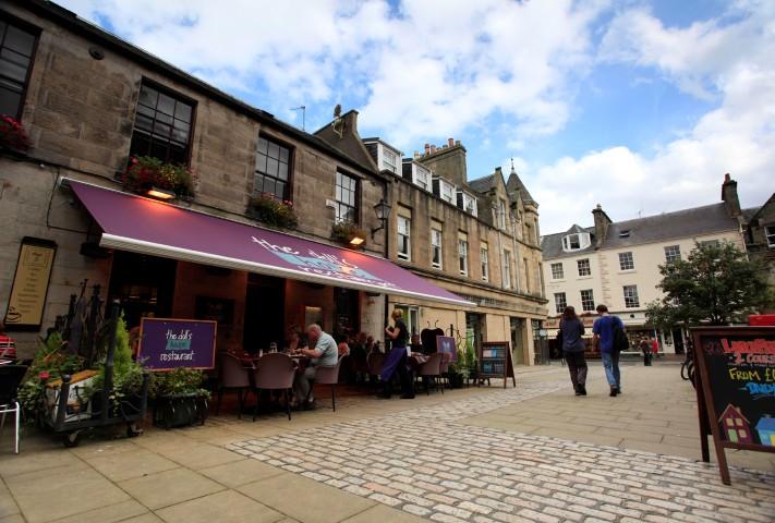 Charming St Andrews street
