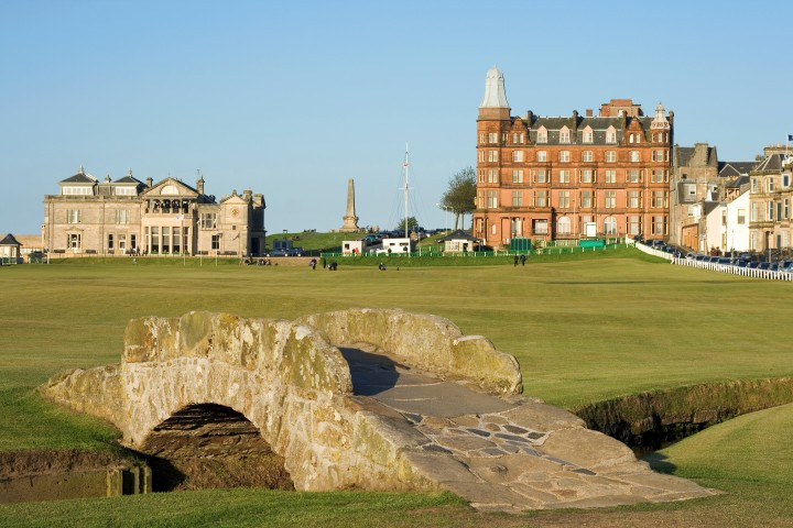 Swilcan Bridge, The Old Course