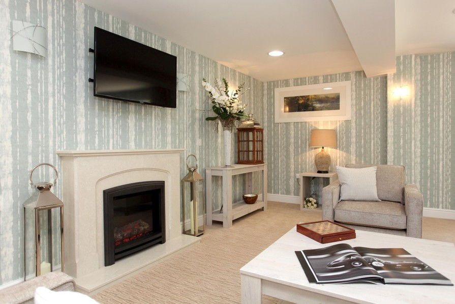 Typical homeowners' lounge