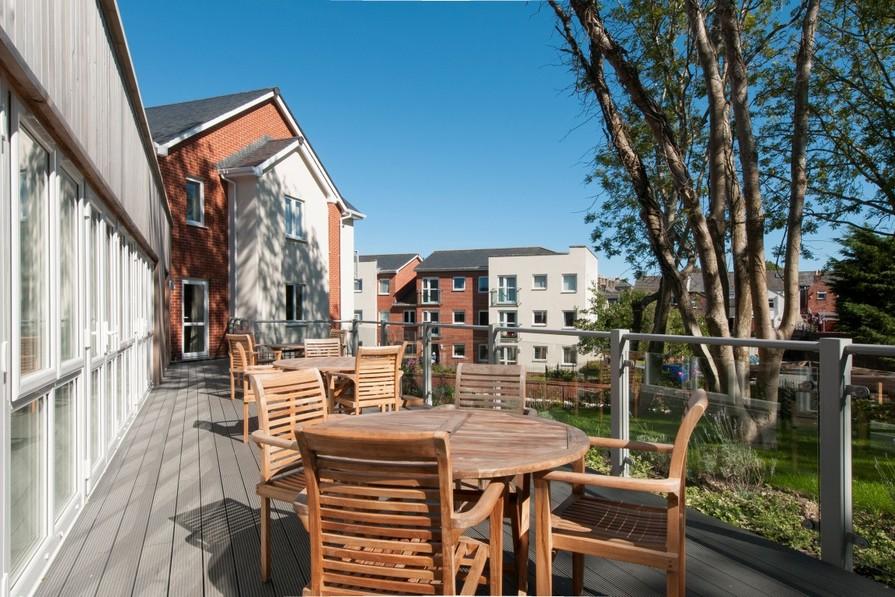 Homeowners' terrace