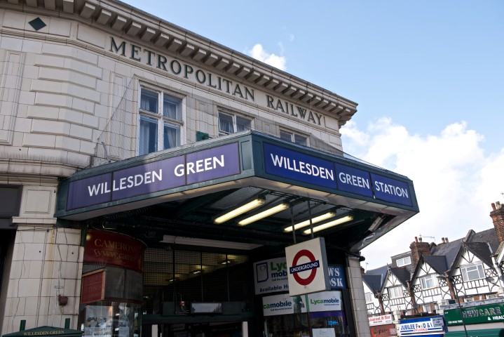 Willesden Green Tube Station