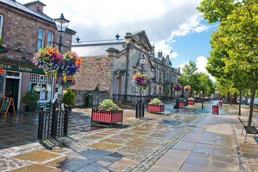 Haddington Town Centre