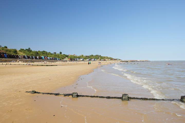 Frinton-on-Sea beach