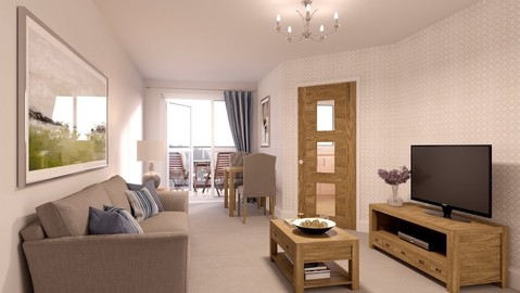 Typical 1 bedroom - Plot 69775