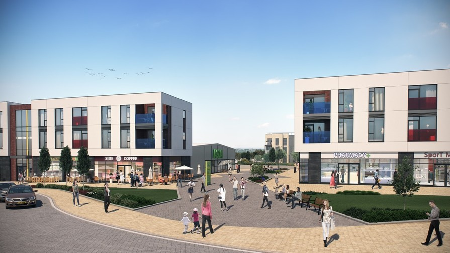 Local amenities - artist impression