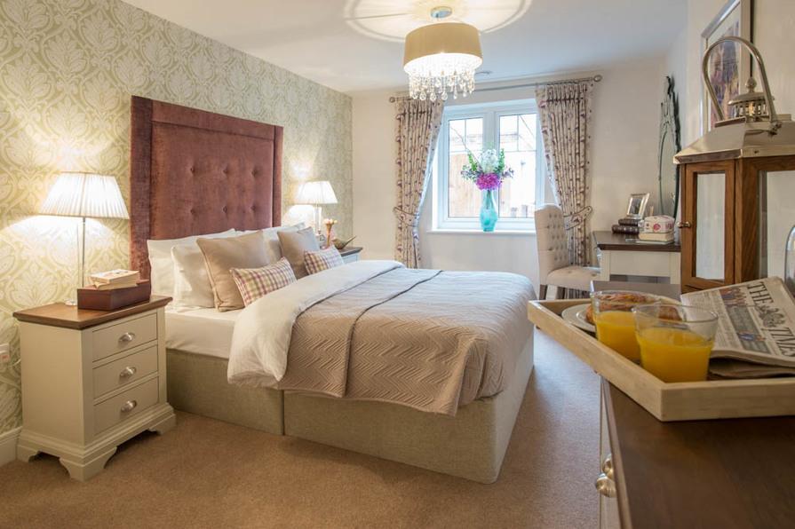 Show Apartment - Bedroom