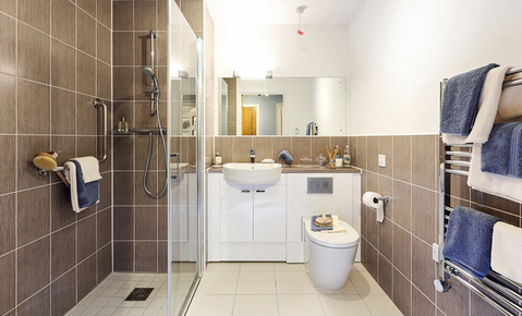 Typical 1 bedroom - Plot 34769