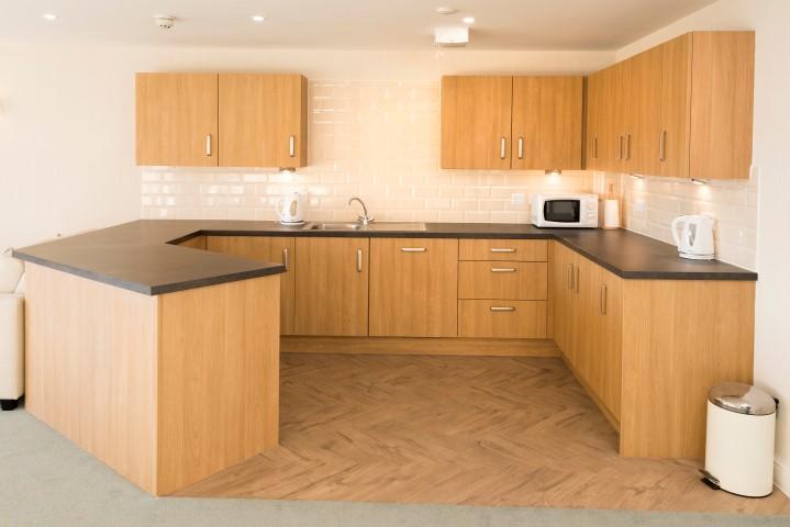 Homeowners' lounge kitchen