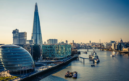 view of London Thames